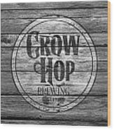 Crow Hop Brewing Wood Print