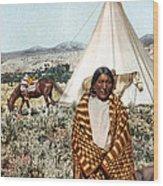 Crow Indian 1902 Wood Print