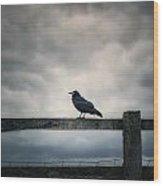 Crow Wood Print by Joana Kruse