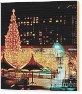 Crown Center Christmas - Kansas City-1 Wood Print