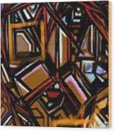 Crown Of Thornes Wood Print