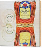 Crown Royal 3 Wood Print