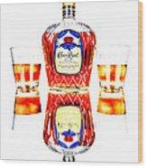Crown Royal Wood Print