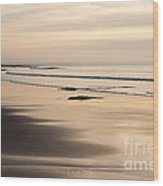 Croyde At Dusk Wood Print
