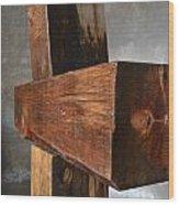Crucifijo Wood Print