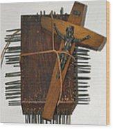 Crucifix Box Wood Print
