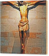Crucifixion Wood Print