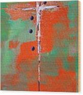Cruciform 2 Wood Print by Nancy Merkle
