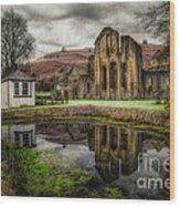 Crucis Abbey Wood Print