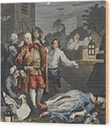 Cruelty In Perfection, From The Four Wood Print