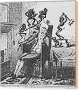 Cruikshank: Headache, 1819 Wood Print