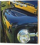 Cruise-in Car Show Vi Wood Print