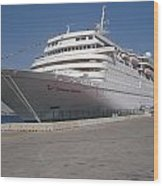 Cruise Ship Wood Print