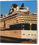 Cruise Wood Print