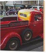 Cruisin Grand Truck Wood Print