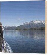 Cruising Inn Doubtful Sound South Island New Zealand Wood Print