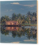 Cruising The Backwaters.. Wood Print