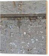 Crumbling Wall 1 Wood Print