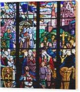 Crusader Wood Print