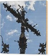 Crux Wood Print