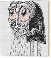 Crybaby Wood Print