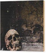 Crypt Wood Print