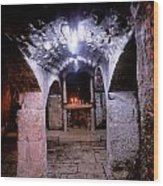 Crypt Of Church Of Holy Sepulchre Wood Print