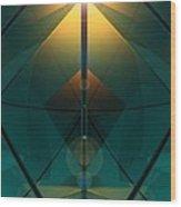 Crystal Cathedral Wood Print