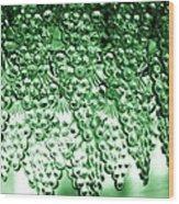 Crystal Green Wood Print