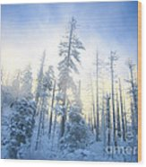 Crystal Harmony Wood Print
