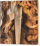 Crystal King Wood Print
