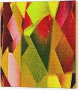 Crystal Lights Wood Print