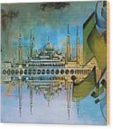 Crystal Mosque Wood Print
