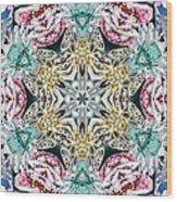 Crystal Mystery Wood Print