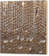 Crystal Rain 2 Wood Print