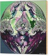 Crystal Royale Fractal Wood Print