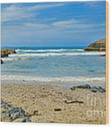 Crystal Waters - Port Macquarie Beach Wood Print