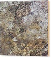 Crystalline Water Wood Print