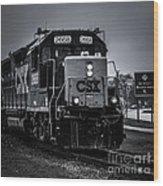 Csx 2668 Wood Print