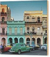 Cuba, Havana, Havana Vieja, Outside T Wood Print