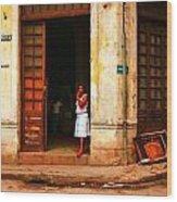 Cuba3 Wood Print