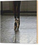 Cuban Ballet Dancer Wood Print