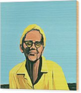Cuban Portrait #13, 1996 Wood Print