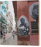Cuban Street Art 3 Wood Print