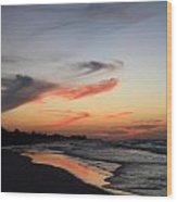 Cuban Sunset Wood Print