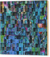 Cubed 3 Wood Print