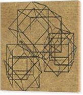 Cubed II Wood Print