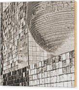 Cubes And Balls Wood Print