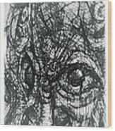 Cubisto 2 Wood Print