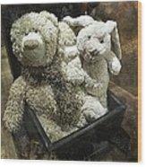Cuddle Toys Wood Print
